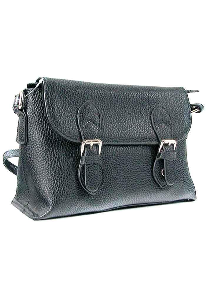 Женская кожаная сумка почтальон 1198