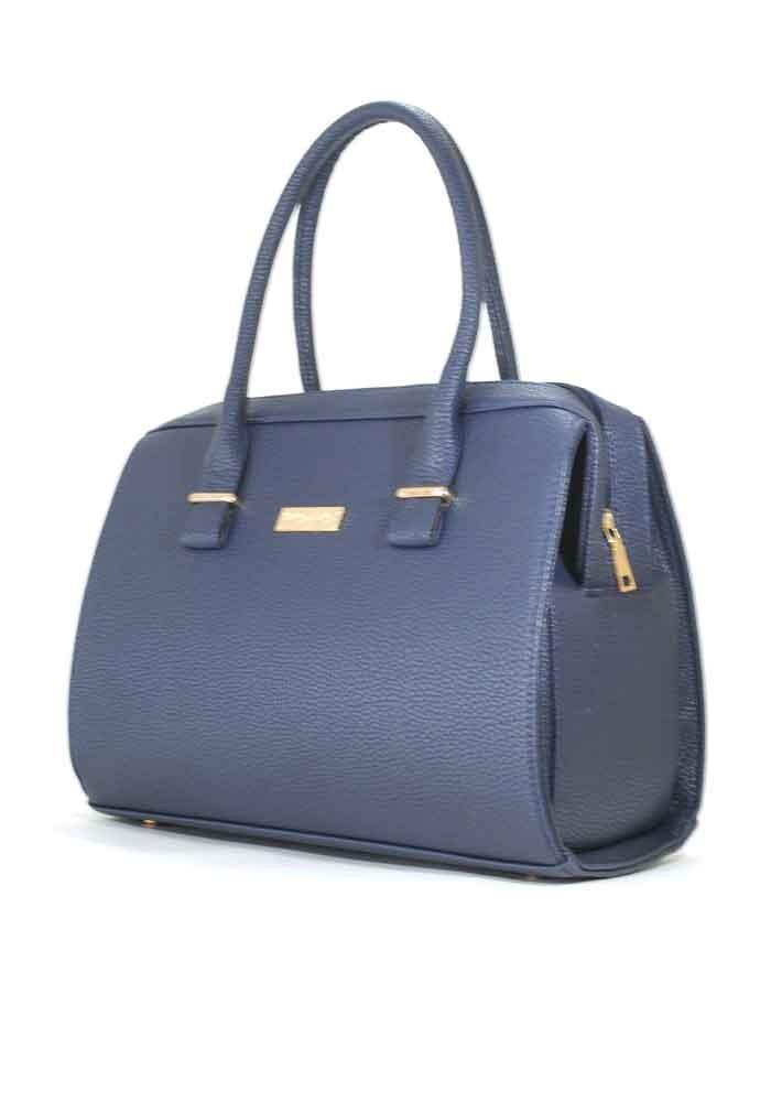 Синяя матовая женская сумка Betty Pretty