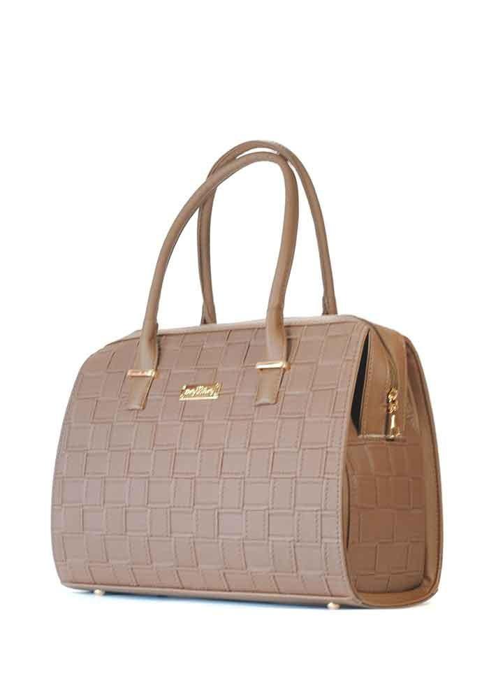 Плетенная коричневая женская сумка Betty Pretty 12P-E-BROWN