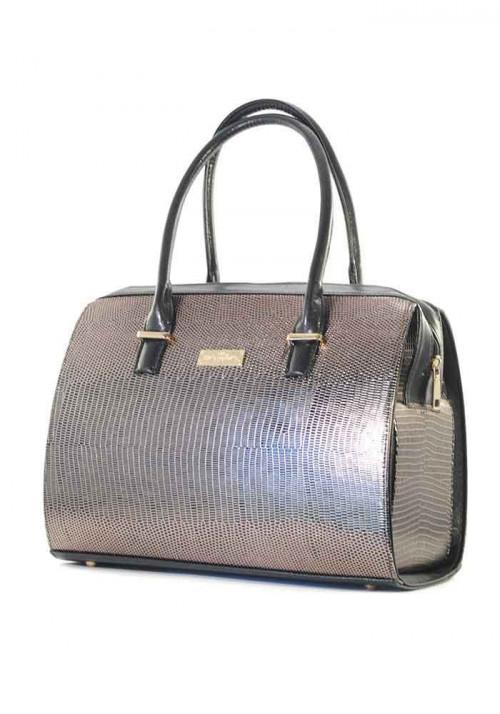 Большая золотистая женская сумка Betty Pretty