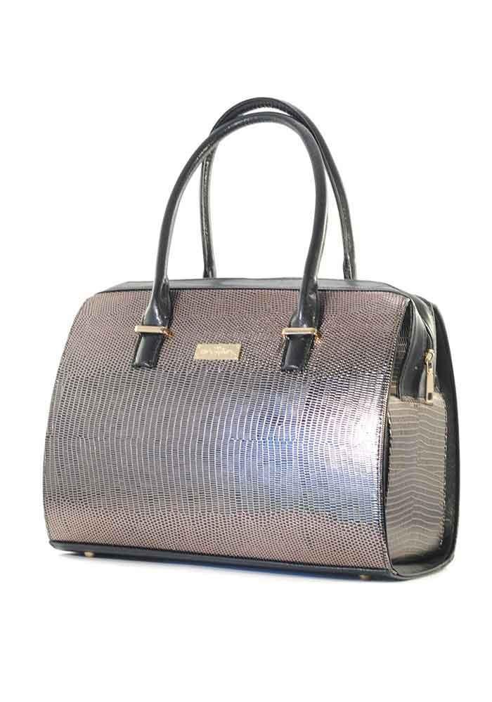 Большая золотистая женская сумка Betty Pretty - Фото