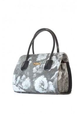 Фото Маленькая женская сумка с цветами 16E-1207