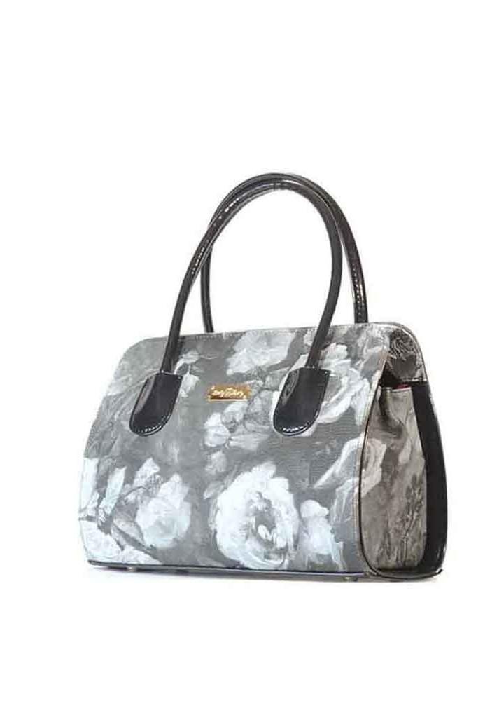 Маленькая женская сумка с цветами