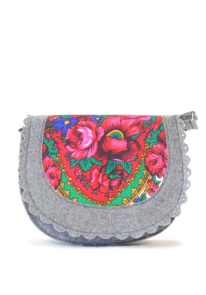5a6e67059d94 ... Женская сумка из войлока с котом в кармане, фото №2 - интернет магазин  stunner ...