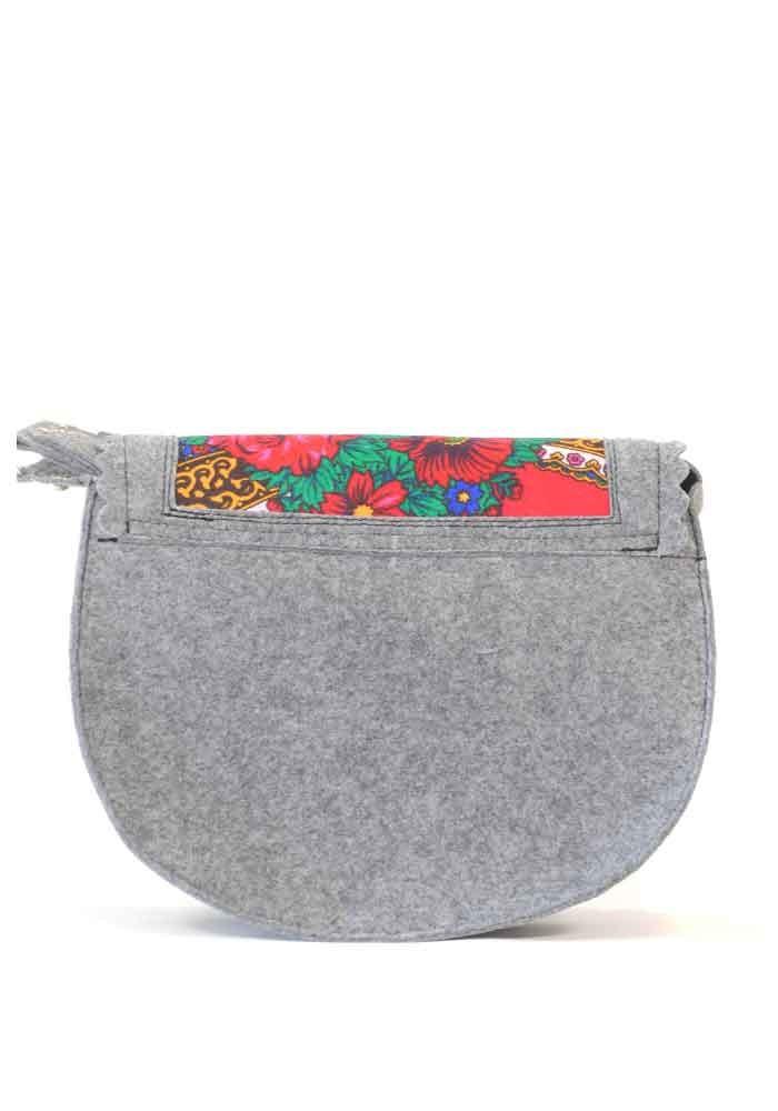 ddc823fb7dcd ... Женская сумка из войлока с котом в кармане, фото №3 - интернет магазин  stunner ...