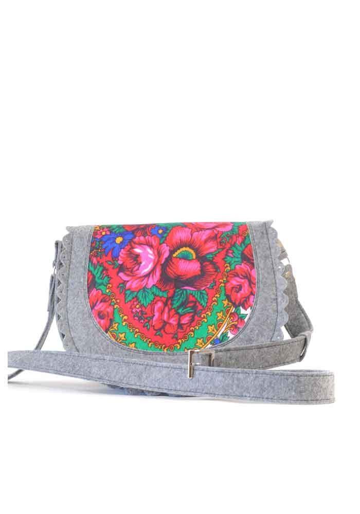 4dc630d486bd ... Женская сумка из войлока с котом в кармане, фото №4 - интернет магазин  stunner ...