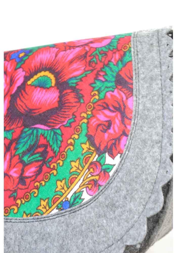 a0f73c089f8d ... Женская сумка из войлока с котом в кармане, фото №5 - интернет магазин  stunner ...
