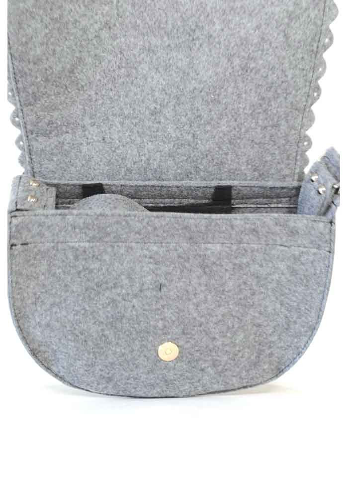 0fa6949cccfa ... Женская сумка из войлока с котом в кармане, фото №6 - интернет магазин  stunner ...