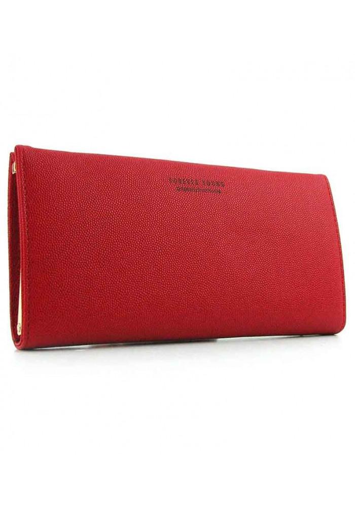 Красный женский кошелек Young 6708
