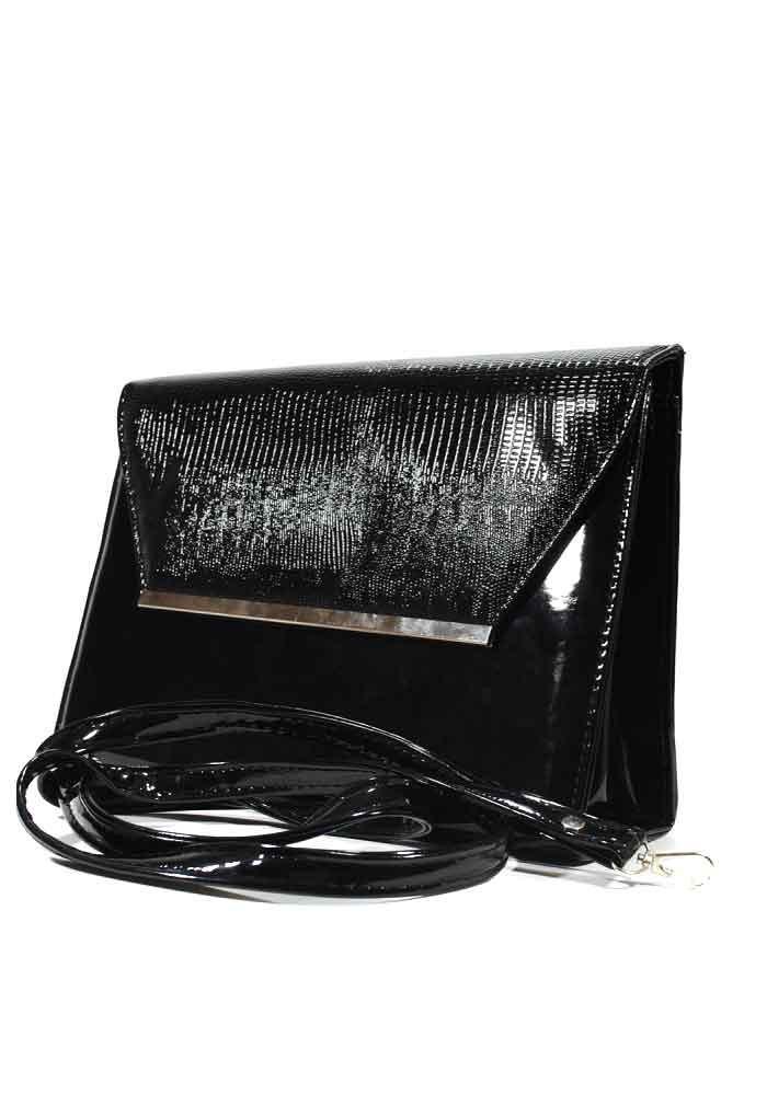 0358fa616c7d Черный женский клатч-конверт - купить в Киеве, выгодная цена на ...