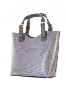 Фото Серая женская сумка шопер 48-DRACON-GREY