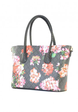 Фото Женская сумка с цветами 66BK-FL