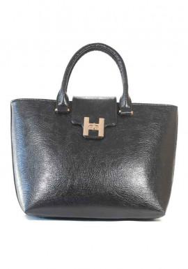 Фото Черная глянцевая женская сумка 64-DIEGO-BLK