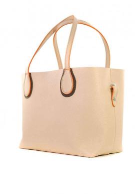Фото Пудровая женская сумка шопер Berry Pretty 69-PUDRA