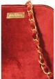Бордовый женский клатч из велюра Betty Pretty, фото №6 - интернет магазин stunner.com.ua