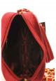 Бордовый женский клатч из велюра Betty Pretty, фото №7 - интернет магазин stunner.com.ua