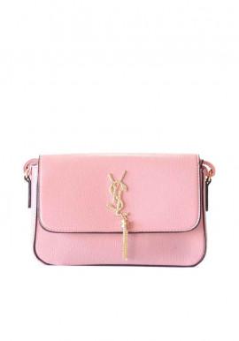 Фото Классический розовый женский клатч 9185