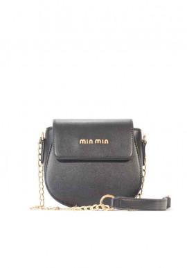 Маленький черный женский клатч 9206-2