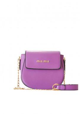 Фото Маленький фиолетовый женский клатч 9206-2