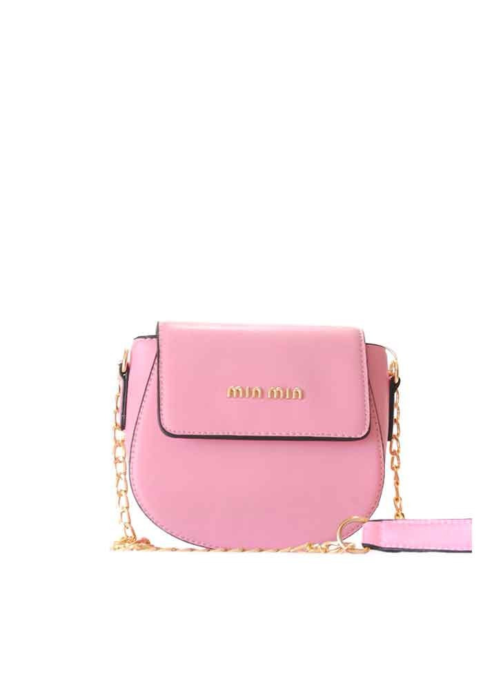 Маленький розовый женский клатч