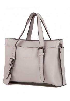 Фото Кожаная женская сумка Grays 8823LG серо-белая