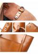 Кожаная женская сумка Grays 2013LB светло-коричневая, фото №4 - интернет магазин stunner.com.ua