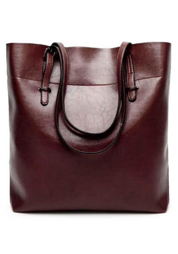 731935e0781c ... Кожаная женская сумка Grays 8098B темно-коричневая, фото №2 - интернет  магазин stunner ...