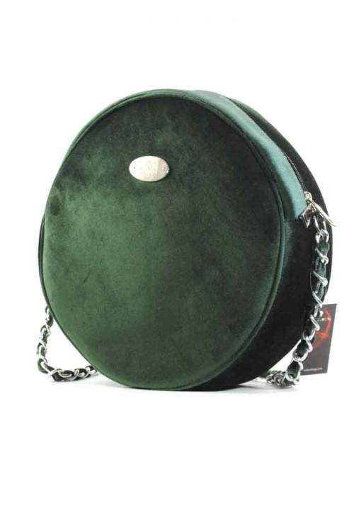 Зеленая круглая женская сумка Betty Pretty