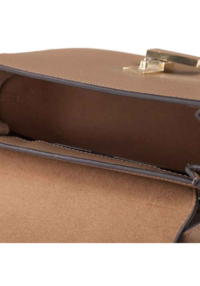 325c71a4c828 ... Кожаная женская сумка-клатч L.D 91012 светло-коричневая, фото №3 -  интернет ...