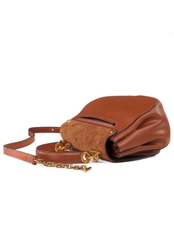 d5d4c879c36f ... Кожаная женская сумка-клатч L.D 91010 светло-коричневая, фото №3 -  интернет ...