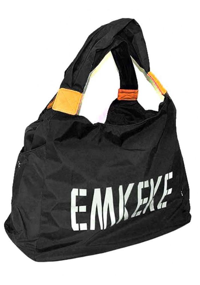 Текстильная женская сумка Emkeke 915 черная