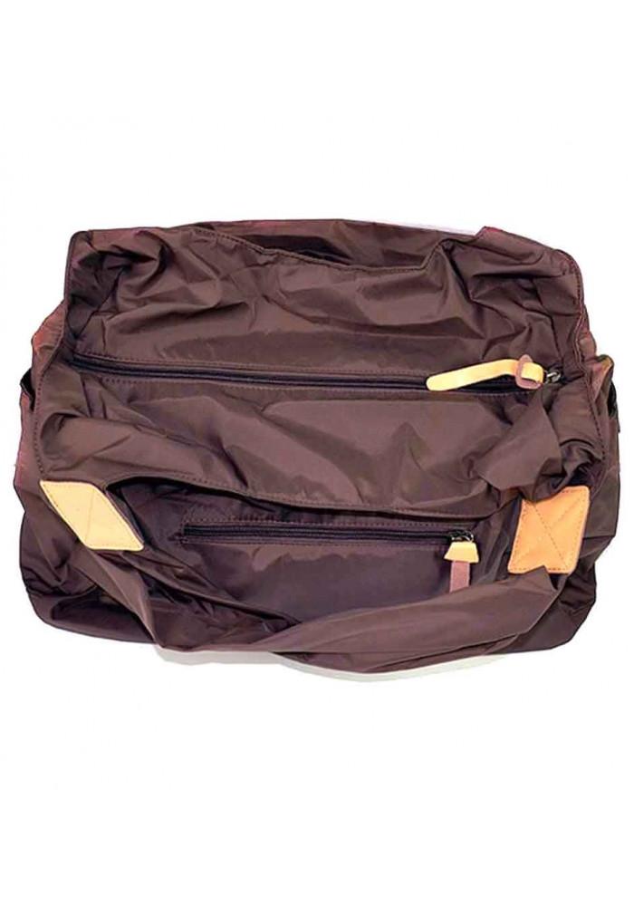 70bd8ba92ab1 ... Текстильная женская сумка Emkeke 915 коричневая, фото №4 - интернет  магазин stunner.com ...