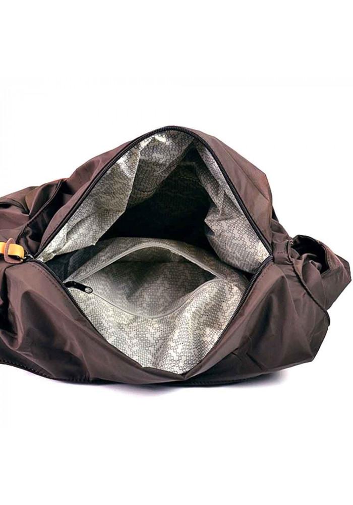 52a318230bc4 ... Текстильная женская сумка Emkeke 915 коричневая, фото №5 - интернет  магазин stunner.com