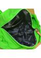 Текстильная женская сумка Emkeke 915 зеленая