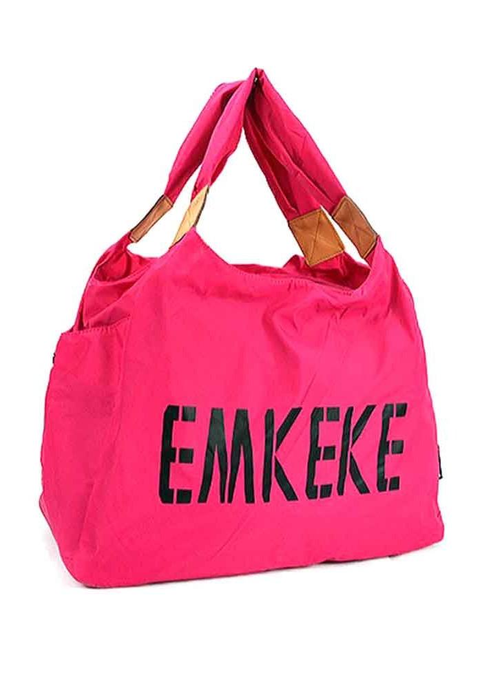 Текстильная женская сумка Emkeke 915 фуксия