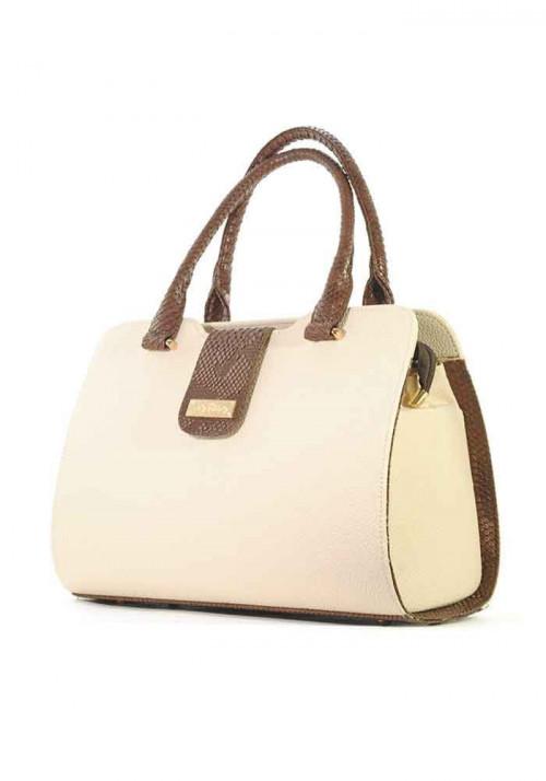 Летняя сумка женская бежевая серии DKL