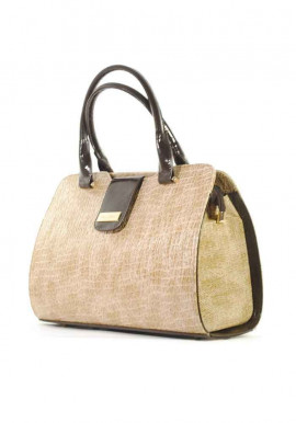 Фото Красивая лаковая женская сумка серии DKL