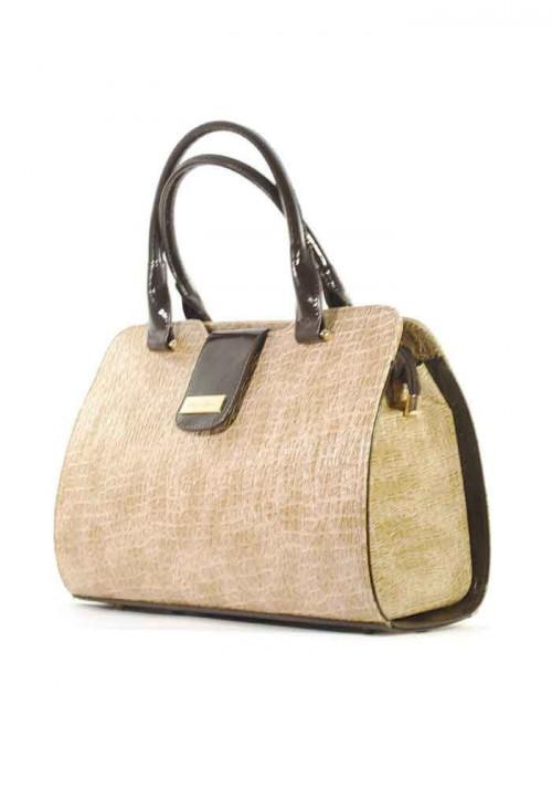 Красивая лаковая женская сумка серии DKL