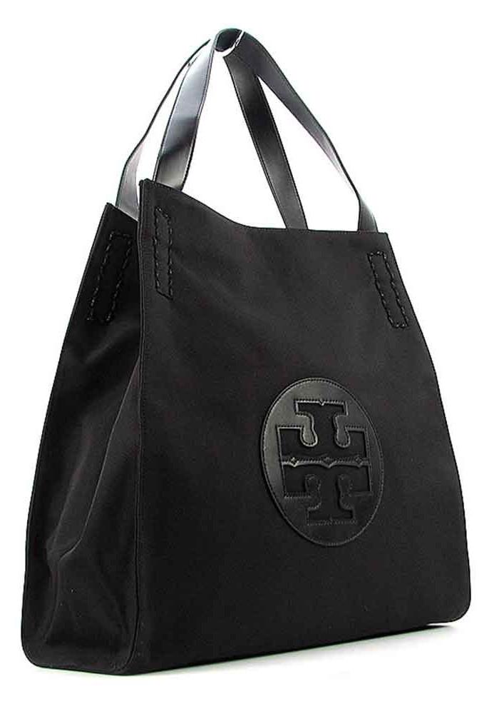 Черная женская сумка из текстиля 1625