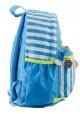 Детский рюкзак в полоску YES OX-17 голубой, фото №2 - интернет магазин stunner.com.ua