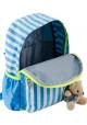 Детский рюкзак в полоску YES OX-17 голубой
