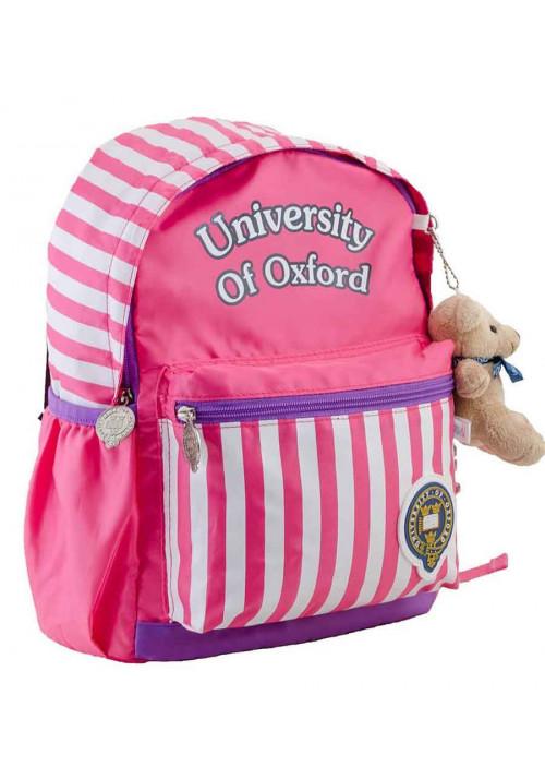 Детский рюкзак в полоску YES OX-17 розовый