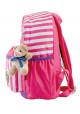 Детский рюкзак в полоску YES OX-17 розовый, фото №2 - интернет магазин stunner.com.ua