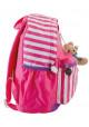 Детский рюкзак в полоску YES OX-17 розовый, фото №3 - интернет магазин stunner.com.ua