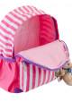 Детский рюкзак в полоску YES OX-17 розовый, фото №5 - интернет магазин stunner.com.ua