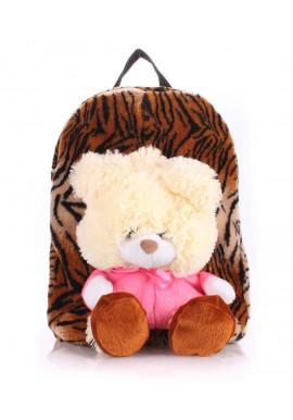 Фото Детский рюкзак из меха Kiddy Tiger
