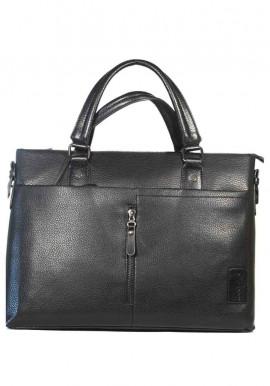 Фото Черная мужская сумка-портфель Darvoz 6001-4-BLACK