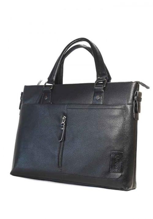 Черная мужская сумка-портфель Darvoz