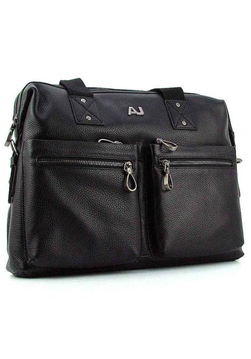 Мужской кожаный портфель AJ 8919