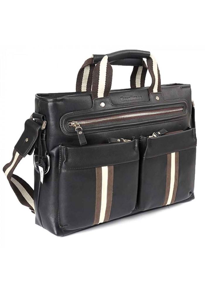 Мужской коричневый портфель 091205